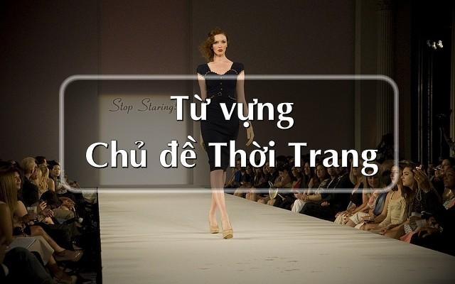 từ vựng tiếng trung chủ đề thời trang