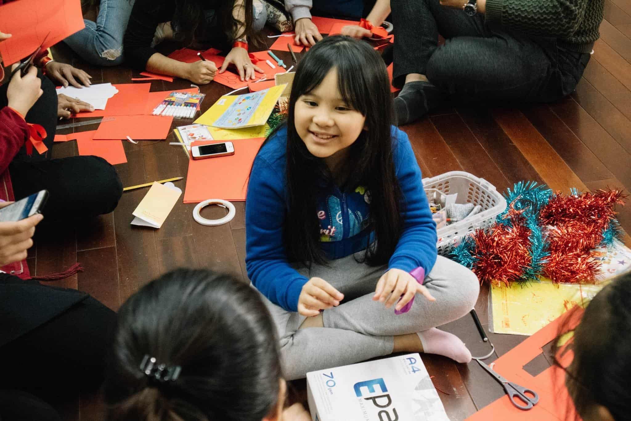 Trẻ em học tiếng Trung
