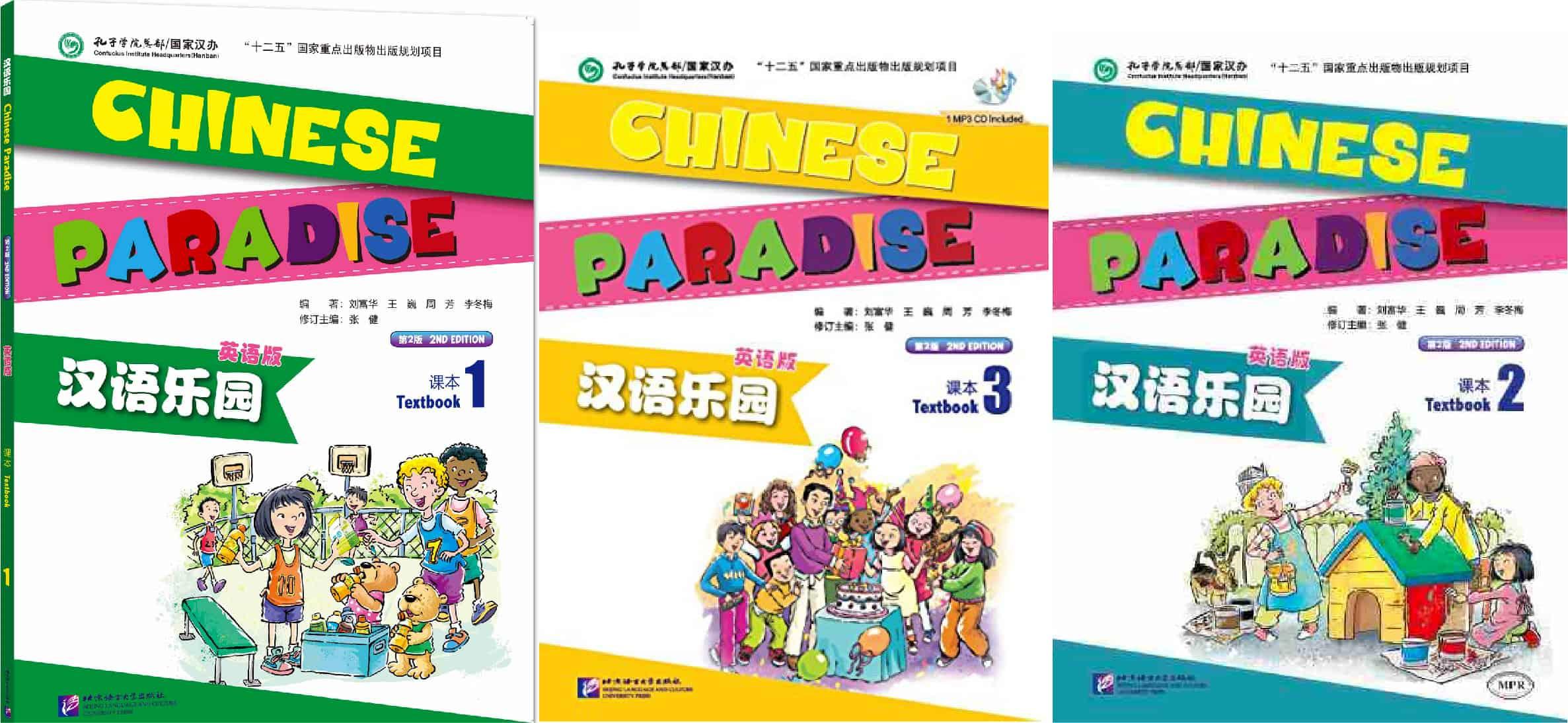 Giáo trình tiếng Trung cho trẻ em - chinese paradise